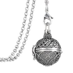 Dawapara metal locket snap jewelry pendant necklaces glow in the dark gargantilha flor