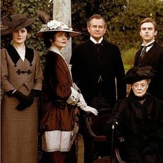 Past, present and future owners of Downton.