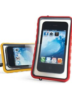 Take your smartphone to the pool, lake, or beach without worry about damage caused by water or sand.
