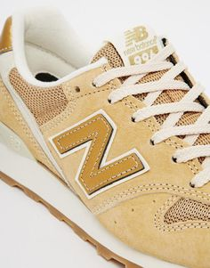 New Balance | New Balance 996 Suede Gold Sneakers at ASOS