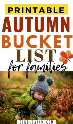 Fall Bucket List For Families Printable Print this awesome autumn bu. Autumn Activities For Kids, Fall Crafts For Kids, Origin Of Halloween, Making Crayons, Fall Picnic, Bobbing For Apples, Autumn Nature, Family Halloween Costumes, Adventure Activities