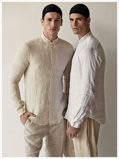 Giovanni Bonamy and Bruno Endler by Christopher Logan Grooming Dillon Pena
