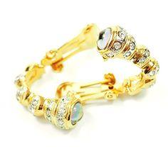 streitstones-Metall-Ohrclips vergoldet mit Swarovski Lagerauflösung bis zu 50 % Rabatt streitstones http://www.amazon.de/dp/B00TU5WFHW/ref=cm_sw_r_pi_dp_3lh6ub16KF383, streitstones, Ohrring, Ohrringe, earring, earrings, Ohrclips, earclips, bling, silver, gold, silber, Schmuck, jewelry, swarovski