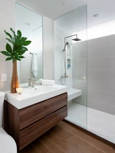 Ikea Bathroom Vanity Hack by Paul Kenning Stewa … … – diy bathroom ideas Ikea Bathroom Vanity, Bathroom Wall Decor, Bathroom Interior, Bathroom Ideas, Bathroom Remodeling, Master Bathroom, Shower Ideas, Ikea Mirror, Bathroom Plants