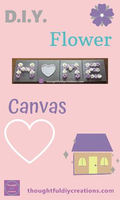 Step-by-Step D.I.Y. Home Canvas Tutorial. D.I.Y. Home Decor. D.I.Y. Wall Decor. Canvas Art. Flower Craft. Home Craft. Easy Craft. Tutorial Craft. Fun Craft. Inspiring Craft. Quick Craft. Thoughtful Craft. D.I.Y. Gift Idea. New Home D.I.Y. Gift Idea. Wedding D.I.Y. Gift Idea. Engagement D.I.Y. Gift Idea. Bead Craft. Painted Canvas. Mixed Media Canvas. Educational Craft. Versatile Craft. Encouraging Craft. Pretty Craft. Feminine Craft. D.I.Y. Wall Art. #diyhomedecor #canvastutorial #flowercraft