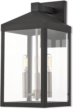 See the Nyack Outdoor Wall Lights, Bronze. Find luxury home lighting online. Black Outdoor Wall Lights, Outdoor Barn Lighting, Livex Lighting, Outdoor Wall Lantern, Outdoor Walls, Wall Sconce Lighting, Wall Sconces, Lighting Ideas, Exterior Lighting