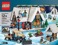 LEGO-Holiday-Christmas-Rare-Winter-Village-Cottage-10229-New-amp-Sealed