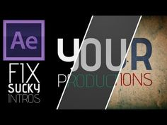 Improving a Sucky Intro | Basic Tips & Tricks | After Effects Tutorial