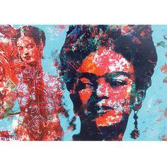 Incertidumbre Cuadro de Frida Kahlo - 100 cm x 80 cm – Alameda