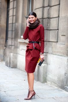 Perfect Bordeaux Suit/Skirt- i would probably add a bra to the equation!