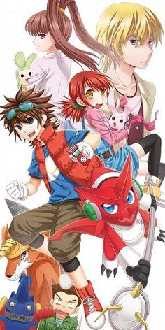 Digimon, Digimon Xros Wars, Aonuma Kiriha, Dorulumon, Tsurugi Zenjirou