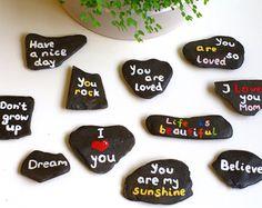 painted rocks - Handgefertigt – Etsy DE