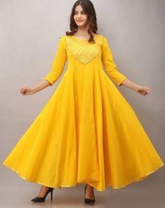 Plus Size Dresses, Day Dresses, Dresses For Sale, Summer Dresses, Indian Dresses, Indian Outfits, Anarkali Kurti, Ethnic Dress, Patchwork Dress