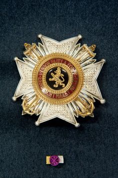 Order of Leopold (naval), Grand Officer