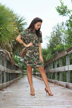 camo dress, military look, army print, Equipment