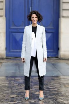 The businesswoman and street style star talks to Marie Claire about juggling work and motherhood with healthy eating and meditation...