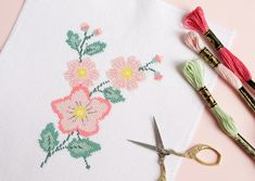 Let your creativity blossom with our floral cross-stitch patterns! For more embroidery inspiration, visit DMC.com to see our 1000+ FREE patterns.