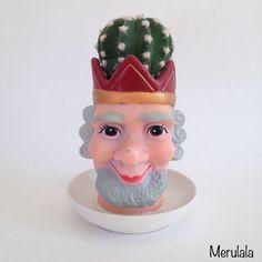 cactus kop - 'koning' - www.merulala.nl