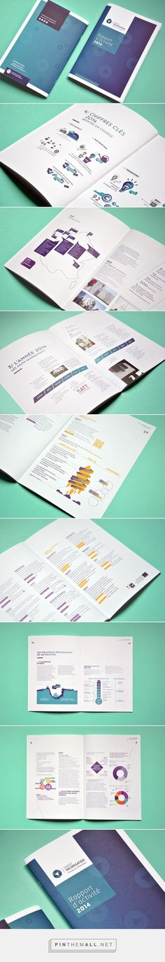 Rapport d'activités 2015 © Pollen Studio Plus Design Brochure, Brochure Layout, Graphic Design Layouts, Book Design Layout, Print Layout, Album Design, Web Design, Graphic Designers, Pamphlet Design