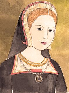 Princess Margaret of England (Tudor), Queen of Scots (1489-1541). Older sister to Henry VIII, she married three times- first to James IV, King of Scots and then Archibald Douglas, 6th Earl of Angus and finally to Henry Stewart. She was the grandmother of Mary, Queen of Scots and Mary's second husband Lord Darnley. Queen Mary and Darnley were parents to James I of England (Stuart).
