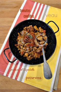 Dégustation Axoa - Recette ragoût de veau pays basque cocotte chez Kaderick en Kuizinn