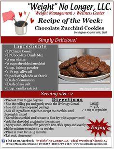 """Wednesday's Weekly Recipe: """"Chocolate Zucchini Cookies"""""""