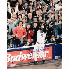Charlie Hayes Signed Last Out 96 WS 16x20 Photo (MLB Auth) - Charlie Hayes Steiner Authenticated Autographed 16x20 photo-New York Yankees Legend Charlie Hayes has personally hand-signed this 16x20 photo of him catching the final out of the 1996 World Series a memory Hayes is especially known for. This Charlie Hayes autograph is guaranteed authentic and includes a Steiner Sports Hologram of Authenticity and an accompanying Steiner Sports Hologram. The Steiner Seal Means Its Real. Steiner…