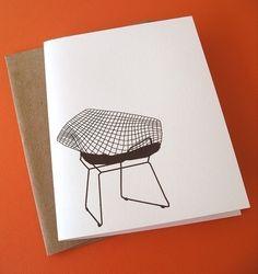 Bertoia chair stationary