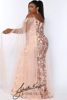 Plus Size Evening Gown, Evening Gowns, Plus Size Formal, Trumpet Dress, Sequin Gown, Pageant Gowns, Mermaid Gown, Wedding Looks, Black Sequins