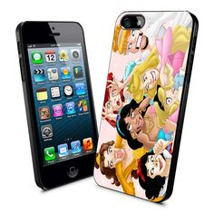 Case iphone 4 and 5 for Funny Disney Character Smile