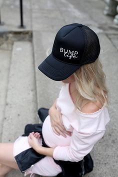 83c6ceb3 Bump Life Trucker Hat Mom Hats, Christmas Mom, Pregnancy Shirts, Baby Room  Decor
