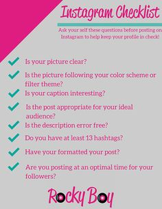 8 Questions to Ask Yourself Before Posting on Instagram | Twitter For Musicians | Rocky Boy