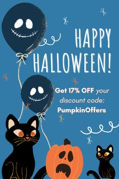 Only till #November 2, hurry up to catch a #generous #offer! Get 17% OFF any #order with the #discountcode PumpkinOffers! #HappyHalloween #Ghosts #discount #specialoffer #trickortreat #halloweenspirit #candy #scary #October #Halloween, #people