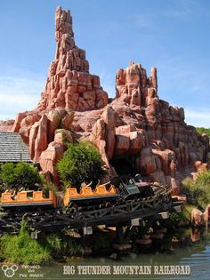 Frontierland's Big Thunder Mountain Railroad ~ Focused on the Magic.com