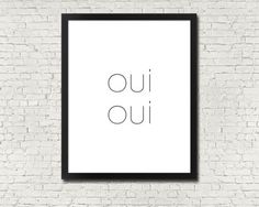 8-x-10in-OUI-OUI-yes-typography-minimalist-modern-black-white-wall-art-print