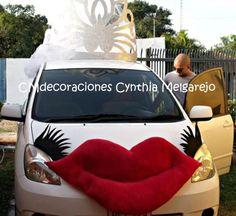 Decorado de los autos p/los novios!!! Car, Wedding, Ideas, Boyfriends, Autos, Fotografia, Valentines Day Weddings, Automobile, Weddings