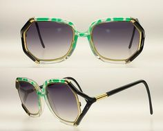 ted lapidus sunglasses- I have 3 pairs of these as they made me feel so perfect in 1990 and they are right on trend again now!