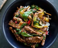A healthy and delicious recipe of Ginger Beef