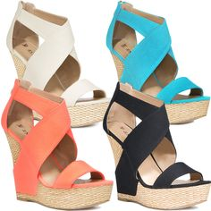 These shoes are wonderful for summer and will work with any short dress.