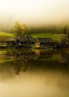 deepitforest:  Sunrise in Styria, Austria