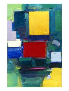The Door by Hans Hofmann.   See the best shows in New York on www.artexperience...