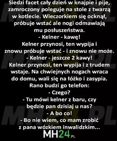Kawa go uleczyła xD Scary Funny, Wtf Funny, Funny Memes, Jokes, Hahaha Hahaha, Weekend Humor, Text Memes, Simple Life Hacks, Pranks