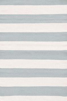 Dash and Albert Catamaran Stripe Light Blue/Ivory Area Rug. Good website for rugs. Coastal Curtains, Coastal Rugs, Coastal Decor, Coastal Living, Cottage Curtains, Coastal Entryway, Coastal Furniture, Coastal Farmhouse, Coastal Cottage