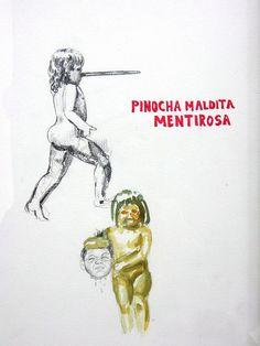 """Artista: Ricardo Muñoz Izquierdo, Dibujo 6 de la Intervención """"Caldo de Ojo"""", Dibujo sobre papel, 21,5 x 29,5 cm, 2012-2014 + PA   Artist: Ricardo Muñoz Izquierdo, Drawing 6 from Intervention """"Eye Soup"""", Drawing on paper, 21,5 x 29,5 cm, 2012-2014 + PA #art #arte #dibujo #drawing #contemporaryworkart #contemporarydrawing"""