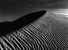 Sierra Nevada Sand Dune - Ansel Adams