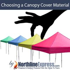 As much as it may seem like it, choosing your canopy cover material is not a one-fits-all scenario. You need to consider things like durability, water resistance, UV protection and fire resistance in order to make sure that you are getting the right cover for what you need.