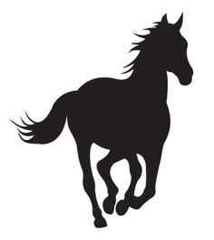 simon hickman uploaded this image to 'Pick n Stick Wall Art'. See the album on Photobucket. Animal Silhouette, Silhouette Vector, O Cowboy, Horse Stencil, Stencil Painting, Stick Wall Art, Running Horses, Horse Crafts, Crayon Art