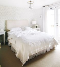 bedroom - white on white