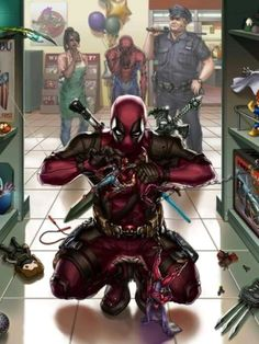 Check out this awesome collection of Luxury Deadpool Play In The School is the top choice wallpaper images for your desktop, smartphone, or tablet. Deadpool Art, Deadpool Funny, Deadpool Movie, Deadpool Stuff, Marvel Comic Universe, Comics Universe, Marvel Dc, Marvel Comics, Deadpool Wallpaper