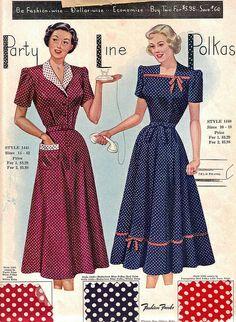 Fashion Frocks Salesman's Sample card (early 1950's?)